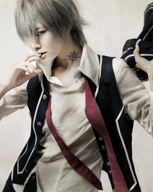 Vampire Knight stageplay Wakatsuki Yumi as Yuki AKIRA as Kaname Root as Zero one, two