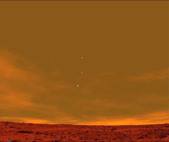 A View from Mars: Earth, Jupiter and Venus | Most Beautiful Pages