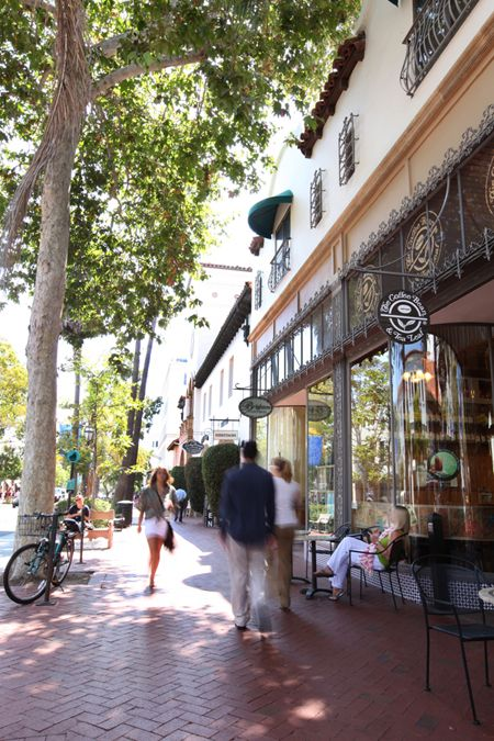 Downtown Santa Barbara has it all! Take a stroll down State Street while you are here!
