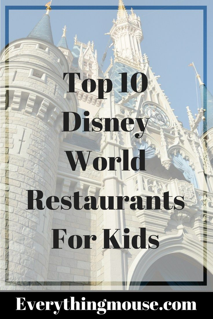 Which are the best Walt Disney World Restaurants for kids? Disney World offers some very unique dining choices and sometimes it can get overwhelming to choose which ones the kids are really going t…