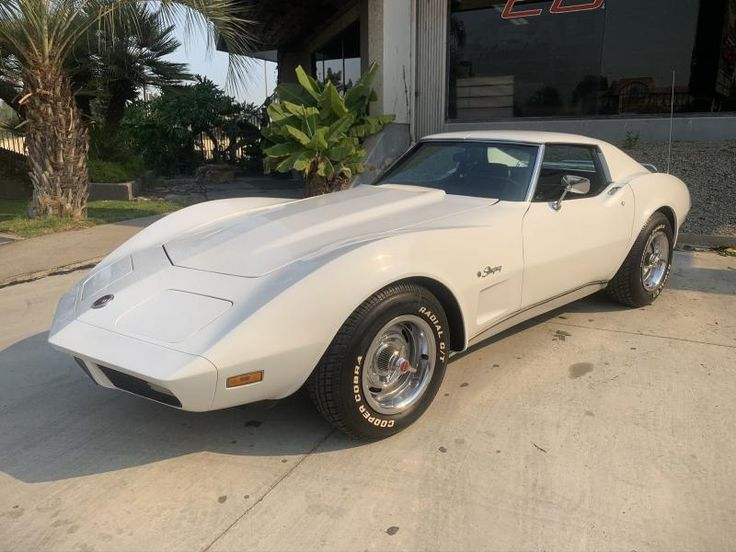 1974 Corvette Coupe For Sale In California 1974 Big Block Coupe In 2020 White Corvette Big Block Chevy Corvette For Sale