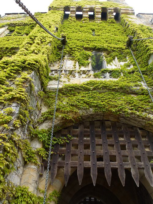 Drawbridge Gate, Hever Castle, Kent. Reminds me of my Childhood, spent many a weekend here!