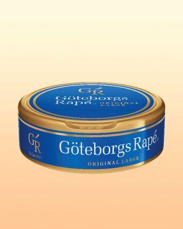 Göteborgs Rape: Original snuset #snus #göteborg