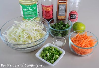 For the Love of Cooking » Pork Tenderloin Tacos with Tangy Slaw
