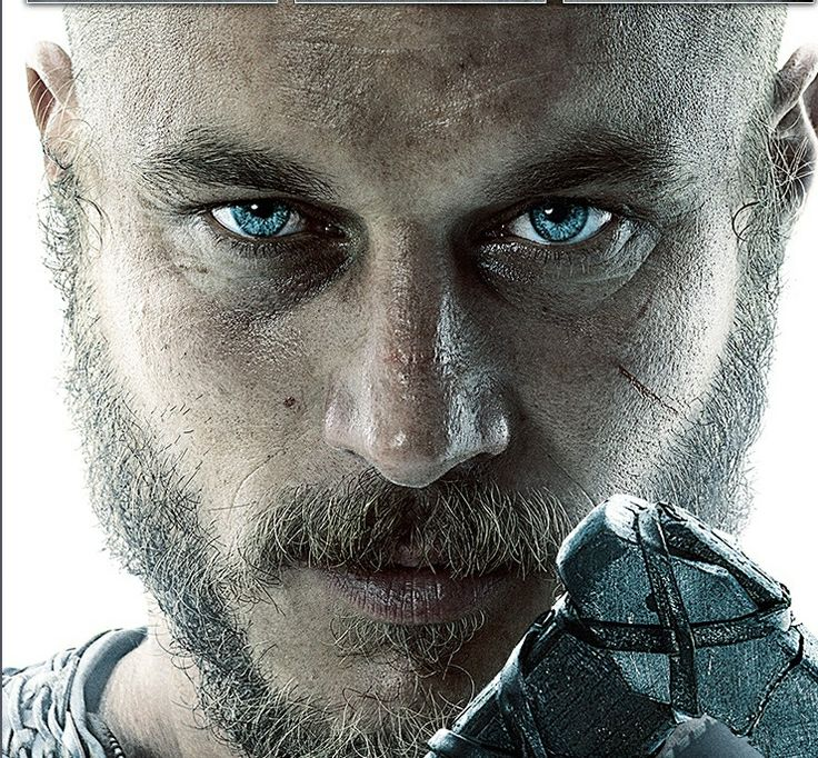 Travis Fimmel-Vikings. First of all, love this show, it's awesome. But secondly, he is extremly attractive and the whole bad ass-ness just adds to his attractiveness.