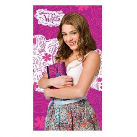 Telo Mare Violetta Disney Bambina Libro, asciugamano perfetto anche per andare in piscina! Collezione PE2014