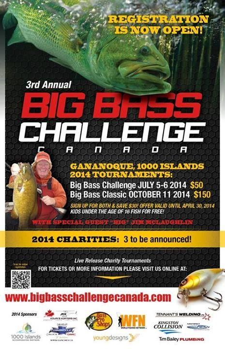 1000 Islands Big bass Challenge, Gananoque, Ontario