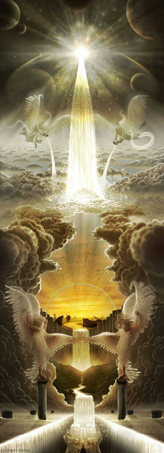 "Revelation 21:9-27Names of God Bible (NOG)  A New Jerusalem  9 One of the seven angels who had the seven bowls full of the last seven plagues came to me and said, ""Come! I will show you the bride, the wife of the lamb."" 10 He carried me by his power away to a large, high mountain. He showed me the holy city, Jerusalem, coming down from God out of heaven. 11 It had the glory of God. Its light was like a valuable gem, like gray quartz, as clear as crystal. 12 It had a large, high wall with 12…"