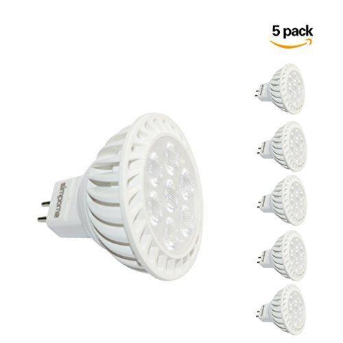 simpome 6W ampoules à LED MR16, GU5.3Ampoules LED, lumière du jour 6000K LED MR16Spot, 50W halogène équivalent, AC/DC 12V, 540…