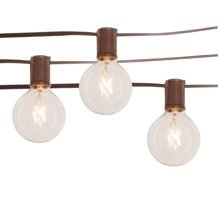 Backyard string lights from Home Depot - $20