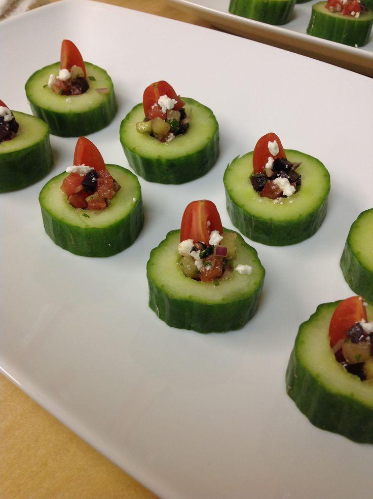 Mediterranean Salad Bites