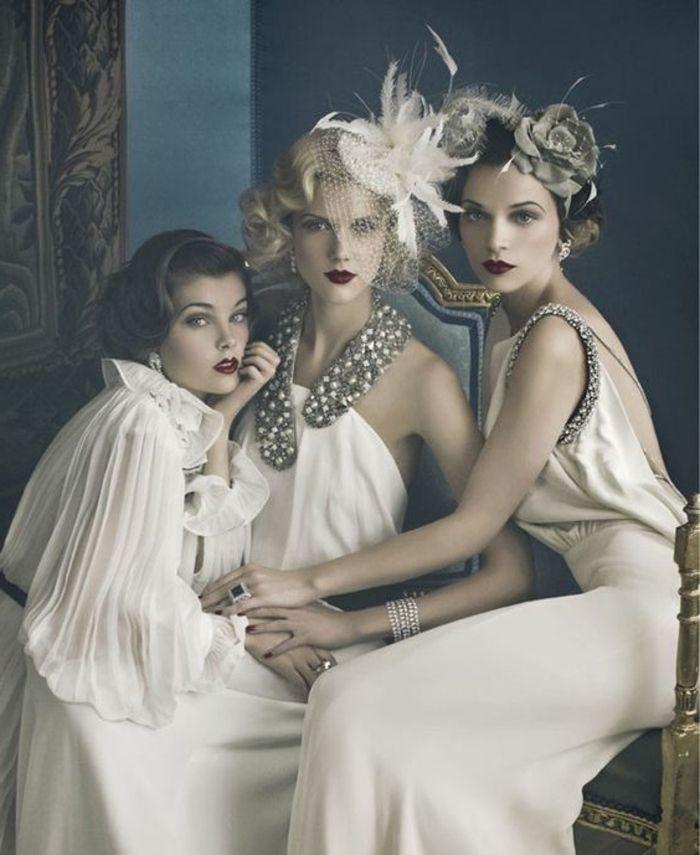 1001 Idees En Photo Pour Une Tenue Gatsby Reussie Robe Annee 30 Robe Annee 20 Look Annees 20