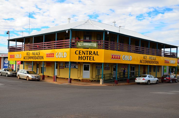 Central Hotel at Cloncurry