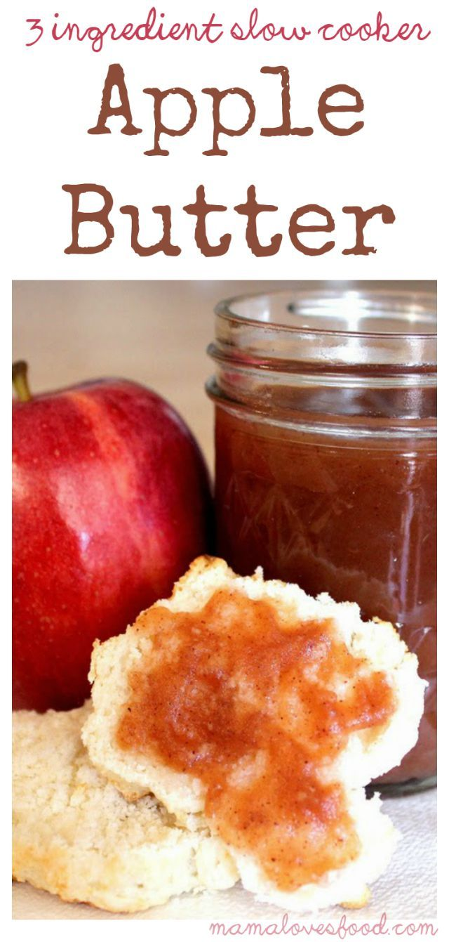 This is the easiest apple butter recipe you'll ever make.  Also the most delicious apple butter recipe.  And you don't have to wait until Fall, get you some now! Love this? Pin it to your SLOW COOKER BOARD for later! Follow Mama Loves Food on Pinterest for more easy recipes! This Apple Butter was one of the ... Read More about  Three Ingredient Slow Cooker Crock Pot Apple Butter