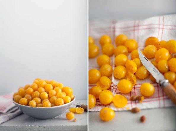 Mirabellen für Marmelade