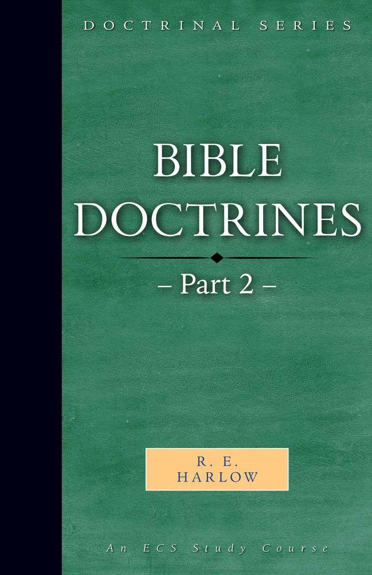 Bible Doctrines – Part 2