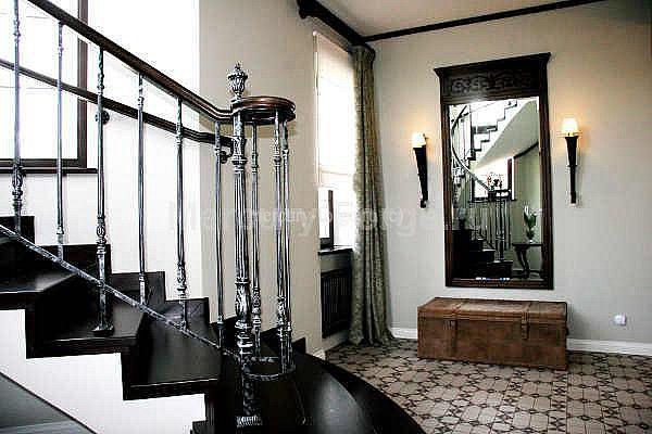 Ограждение лестницы из литого чугуна - «Mercury Forge» #stairs #decor #home #grandeforge #художественноелитьё #mercuryforge #лестницы #ограждения #москва #дом #интерьер