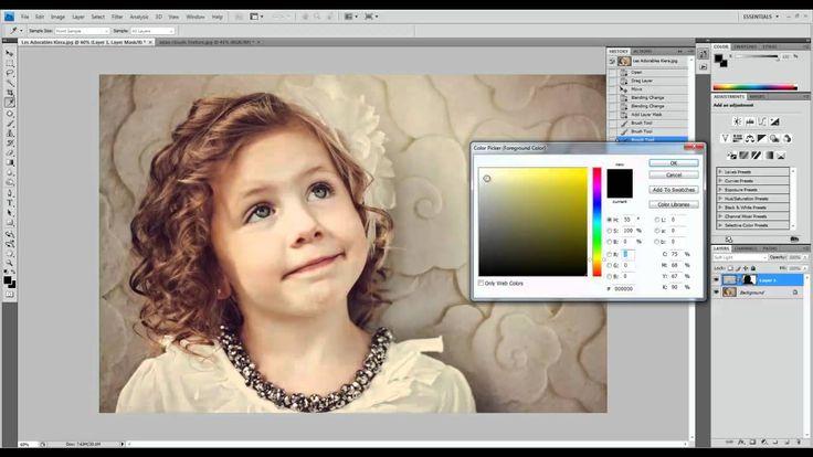 Photoshop Tutorial Adding Textures to Photos