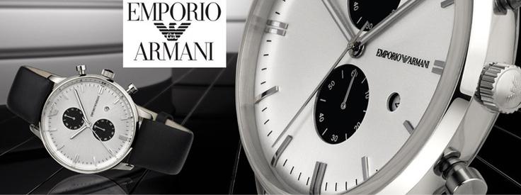 ΝΕΑ Ρολόγια Emporio ARMANI! Δείτε τα μόνο στο oroloi.gr! http://www.oroloi.gr/index.php?cPath=40