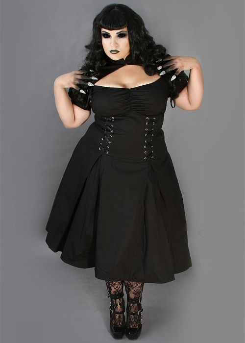 Best 25  Plus size goth ideas on Pinterest | Casual gothic fashion ...