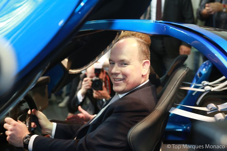 Global launch: The Toroidion 1MW Concept car and our revolutionary electric powertrain were launched on 16 April 2015 at Top Marques Monaco by H.S.H Prince Albert II of Monaco.