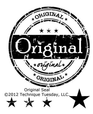 """original"" seal stamp"