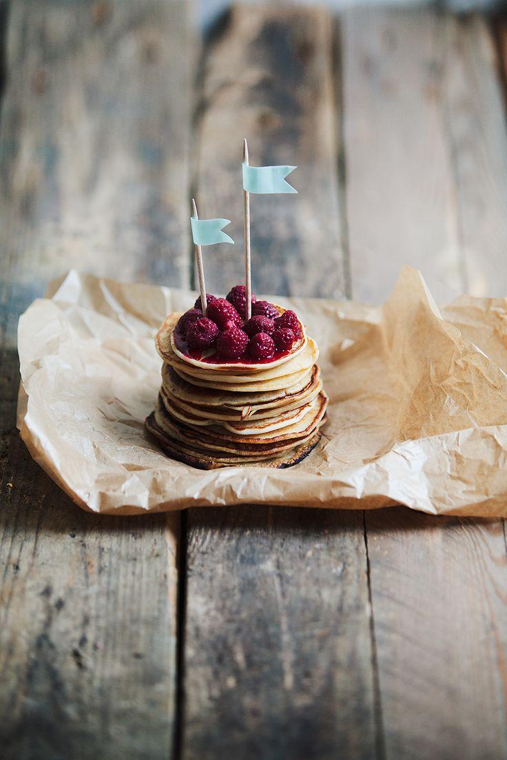 Pancakes - Photographer in Sweden, food, weddings, portraits, interior – bröllopsfotograf, matofoto, inredning och porträtt i Sverige – Fanny Hansson