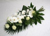 Fleurs de deuil | fleurs enterrement et couronne de fleurs - Bouquets de fleurs de deuil