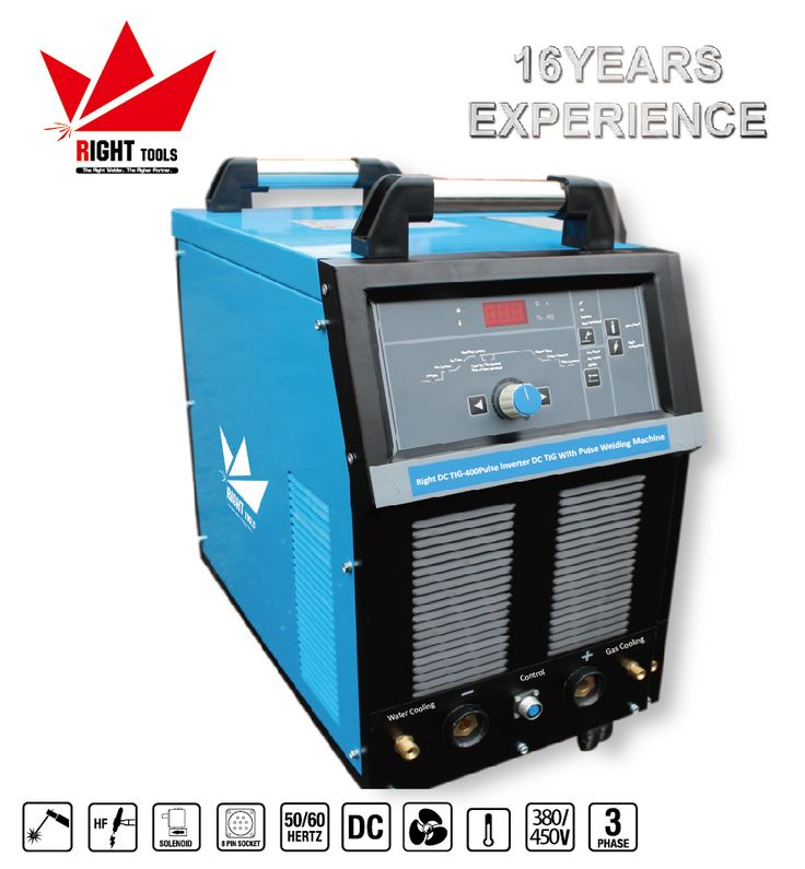 High performance copper welding machine soldadora 400a dc tig welding