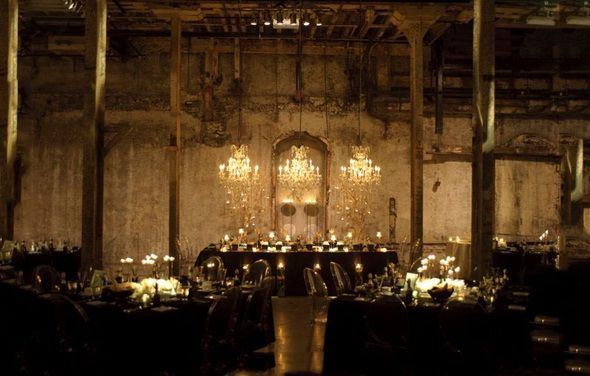 warehouse wedding decor warehouse factory industrial venue wedding trends and 8365