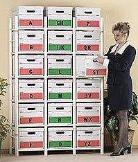 Shop Staples For Great Deals On Bin Warehouse Storage System, 18 File Box  Model.
