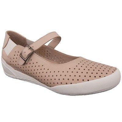 παπούτσια γυναικεία SAFE - STEP 1701 με μπαρέτα δερμάτινα