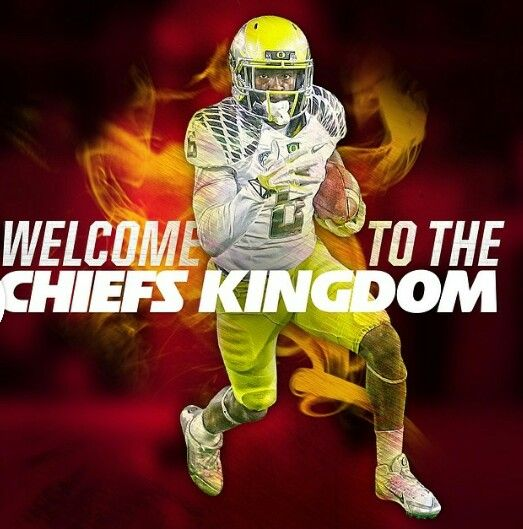 KC 4th round 2014 draft pick De'Anthony Thomas  RB from Oregon