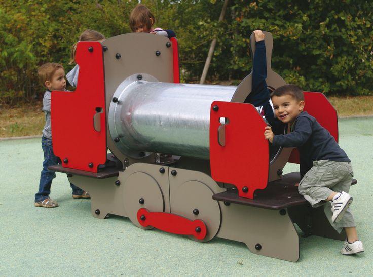 Loco train allows children to drive their very own train