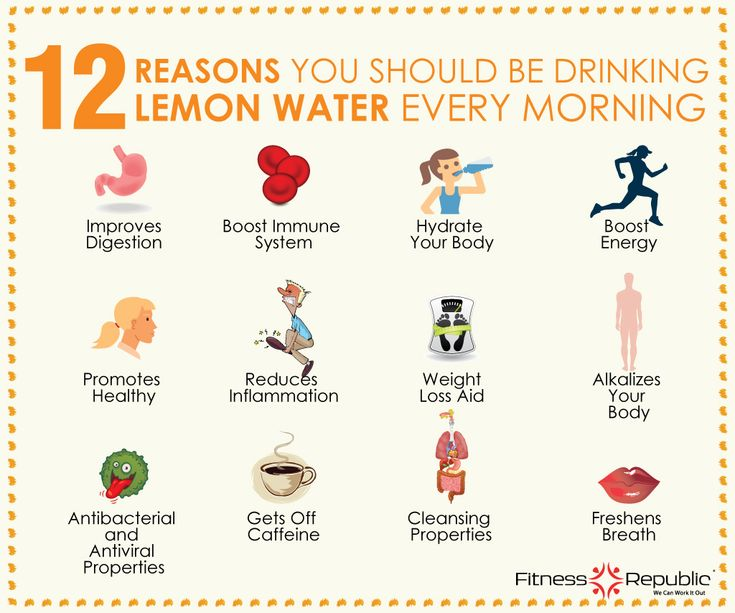 12 Reasons You Should Be Drinking Lemon Water Every Morning | Fitness Republic