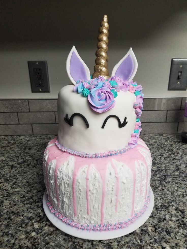 Unicorn Slime Cake Projects To Try In 2019 Birthday