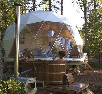 Go glamping in style at a Ridgeback Lodge Dream Dome, named by CNN Travel as one of the world's most unusual camping experiences.