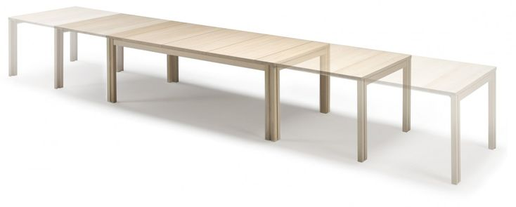 Patented Skovby #24 dining table. The most flexible and stable dining table. From 6 to 20 people! | Skovby Møbler