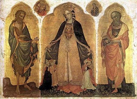 """Jacobello del Fiore, """"Madonna della Misericordia"""", 1415, Venise"""