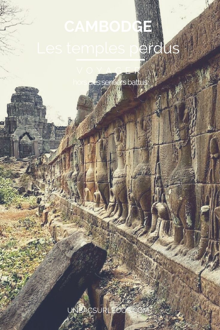 Et oui, il n'y a pas qu'Angkor au Cambodge, loin de là ! Perdus au milieu de la jungle, rescapés du temps, des guerres et des pillages, de nombreux magnifiques temples restent à découvrir ! Loin de les avoir tous vu, je vous livre ici mes 6 coups de cœur : Sambor Prei Kuk, Phnom Santuk, Preah Khan, Preah Vihear, Koh Ker,  Beng Mealea.