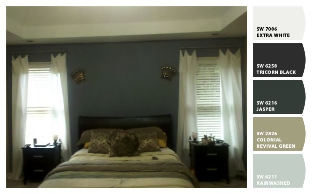 Rainwashed By Sherwin Williams With Coordinating Colors