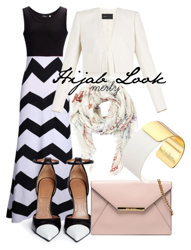 Hijab Look 023 by merlyana-dwi-hapsari on Polyvore featuring BCBGMAXAZRIA, Givenchy and Kate Spade