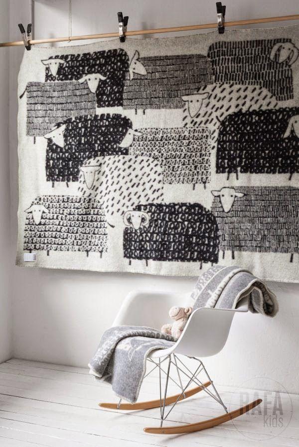Armchair bascule Eames kids The Style files via Nat et nature