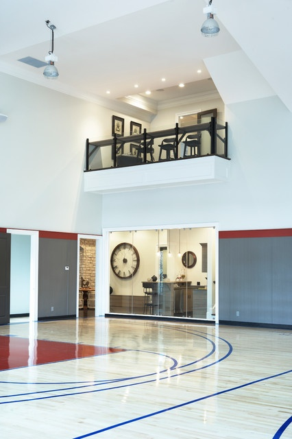17 best images about killer basketball courts on pinterest for Home indoor basketball court cost