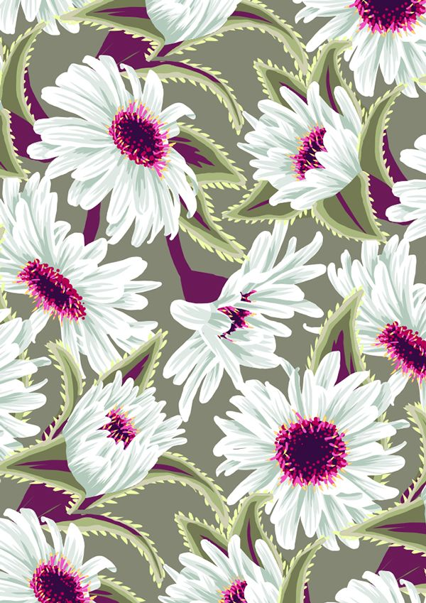 Teteaweka Daisy Floral Print, Andrea Stark