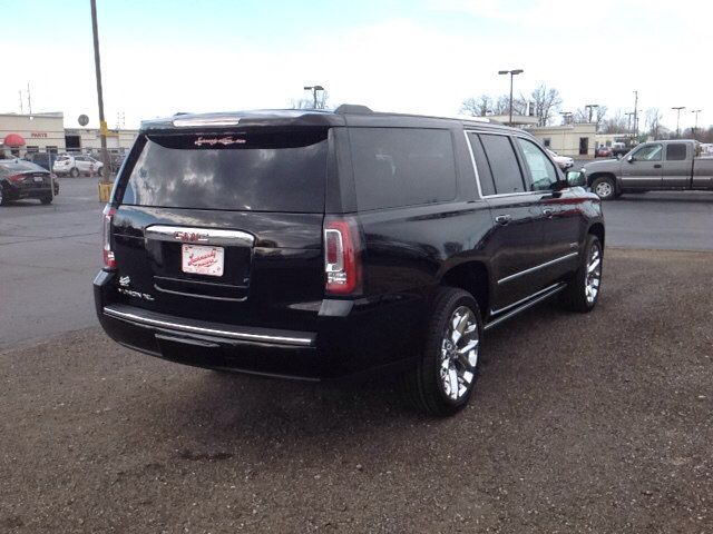 New 2017 GMC Yukon XL Denali SUV Elkhart  It delivers style and power in a single package! The following features are included: adjustable headrests in all seating positions, a power rear cargo door, and power seats. It features an automatic transmission, 4-wheel drive, and a powerful 8 cylinder engine.   See more at www.lochmandymotors.com
