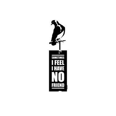 "Saatchi Art Artist Miroslav Škařupa; New Media, ""SOMETIMES I FEEL I HAVE NO FRIEND"" #art"