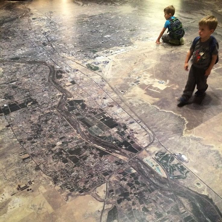 This map of Albuquerque is way cool! So are my nephews with their backpacks! by lesleymck
