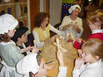 lots of activities to look into, all colonial style!