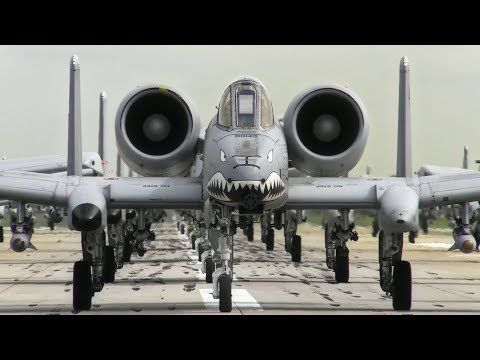Trump Lines Up Ultra Lethal A-10 Warthogs To Send Message To North Korea - A-10 Warthog Compilation